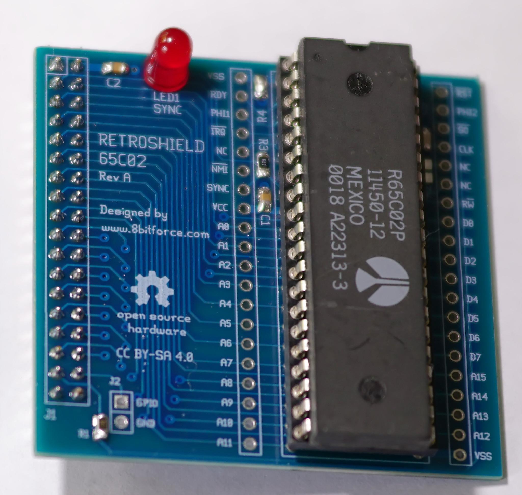 Retroshield for Arduino Mega | 8 Bit Force